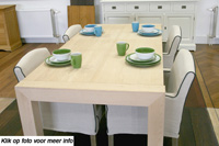 maple tafel, maple eettafel