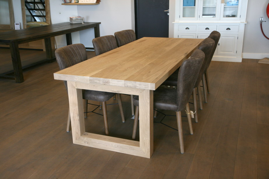 eiken tafel Oxford